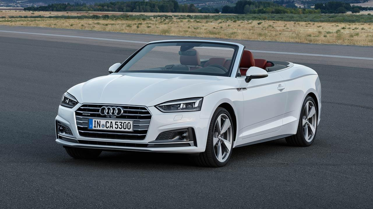 Audi S5 Cabriolet 2017 - Frontansicht