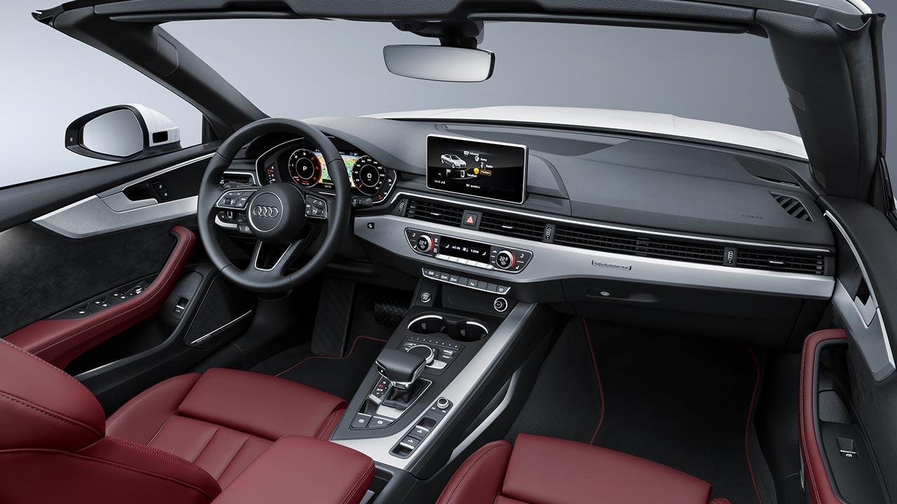 Audi S5 Cabriolet 2017 - Cockpit