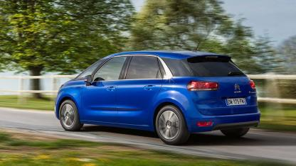 Citroen C4 Spacetourer - in voller Fahrt