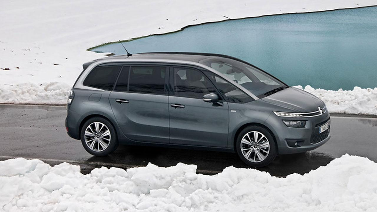 Citroen Grand C4 Spacetourer - im Schnee