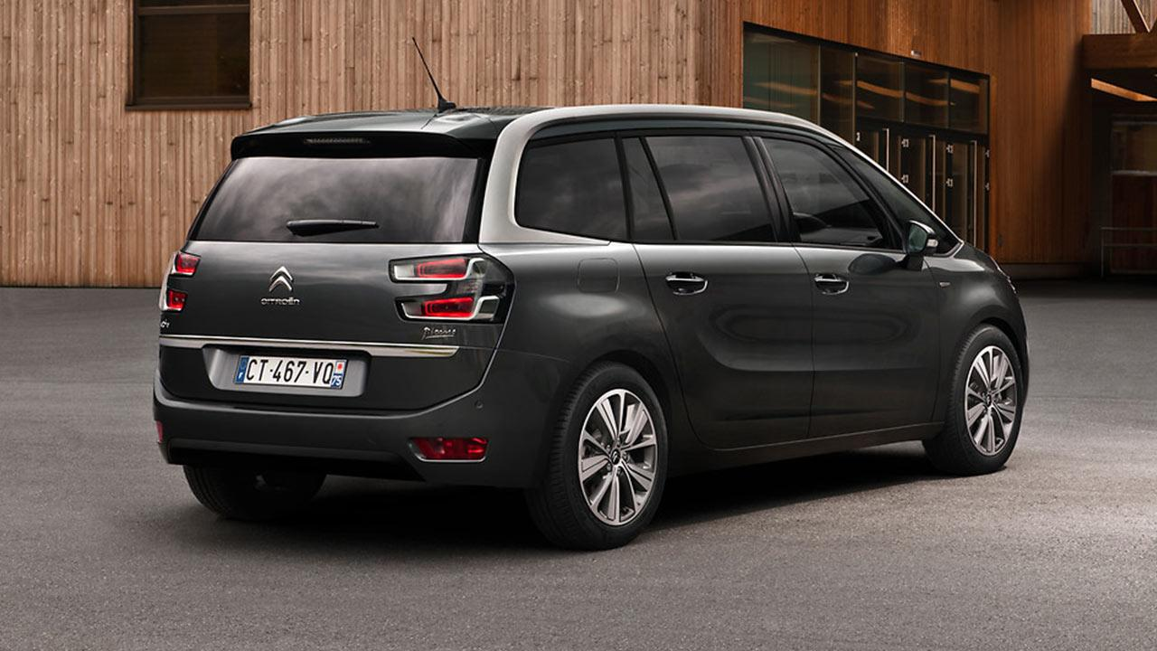 Citroen Grand C4 Spacetourer - Heckansicht