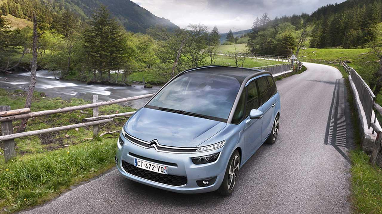 Citroen Grand C4 Spacetourer - Frontansicht