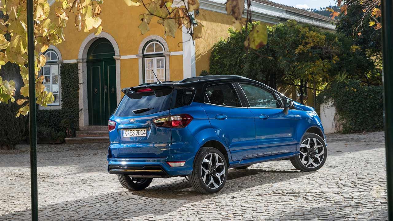 Ford EcoSport - Heckansicht