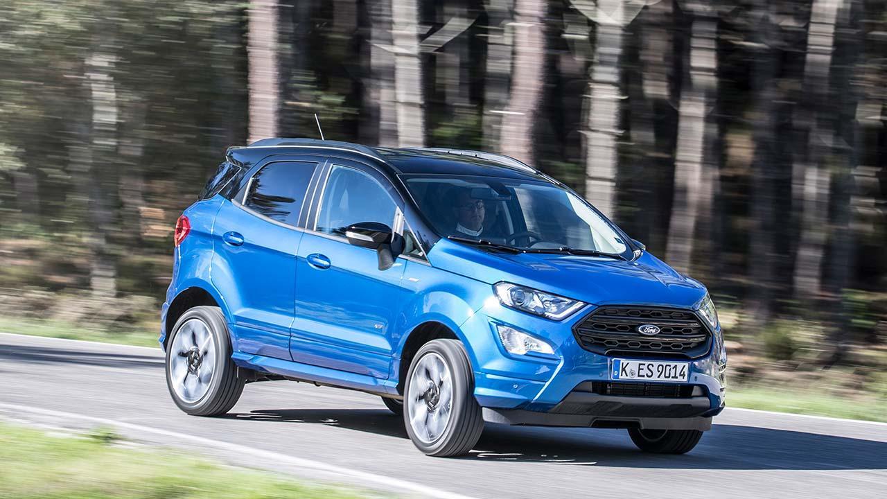 Ford EcoSport - Seitenansicht