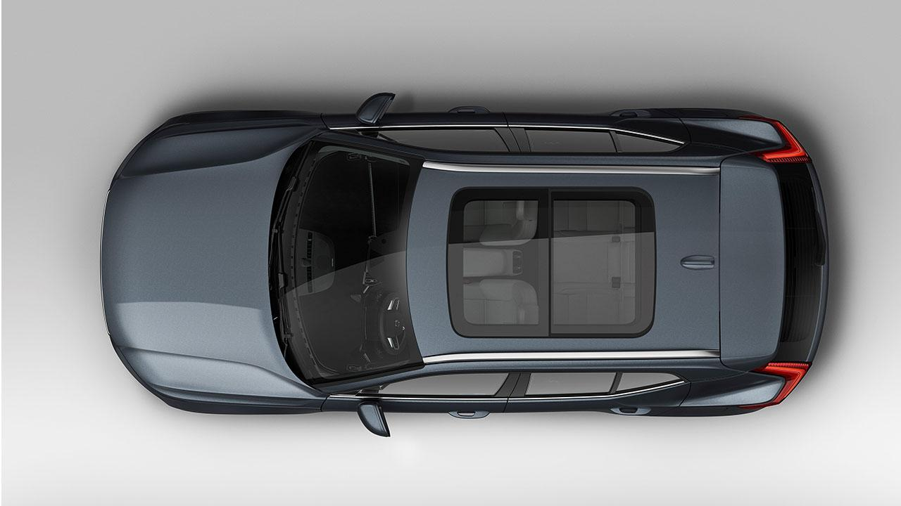 Volvo XC40 - Luftaufnahme