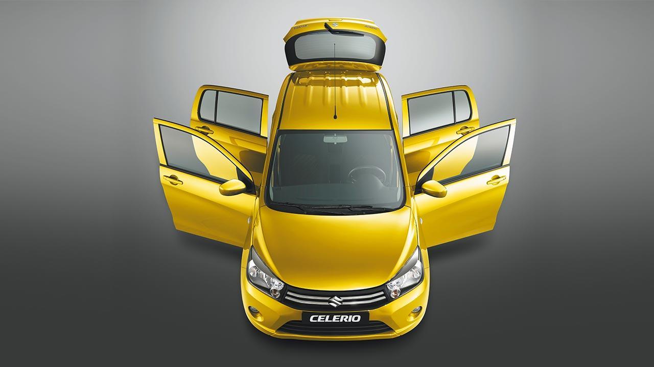 Suzuki Celerio - in Gelb