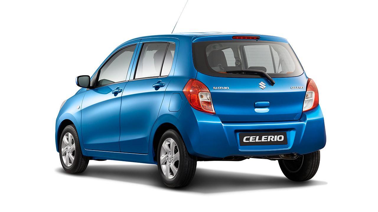 Suzuki Celerio - Heckansicht