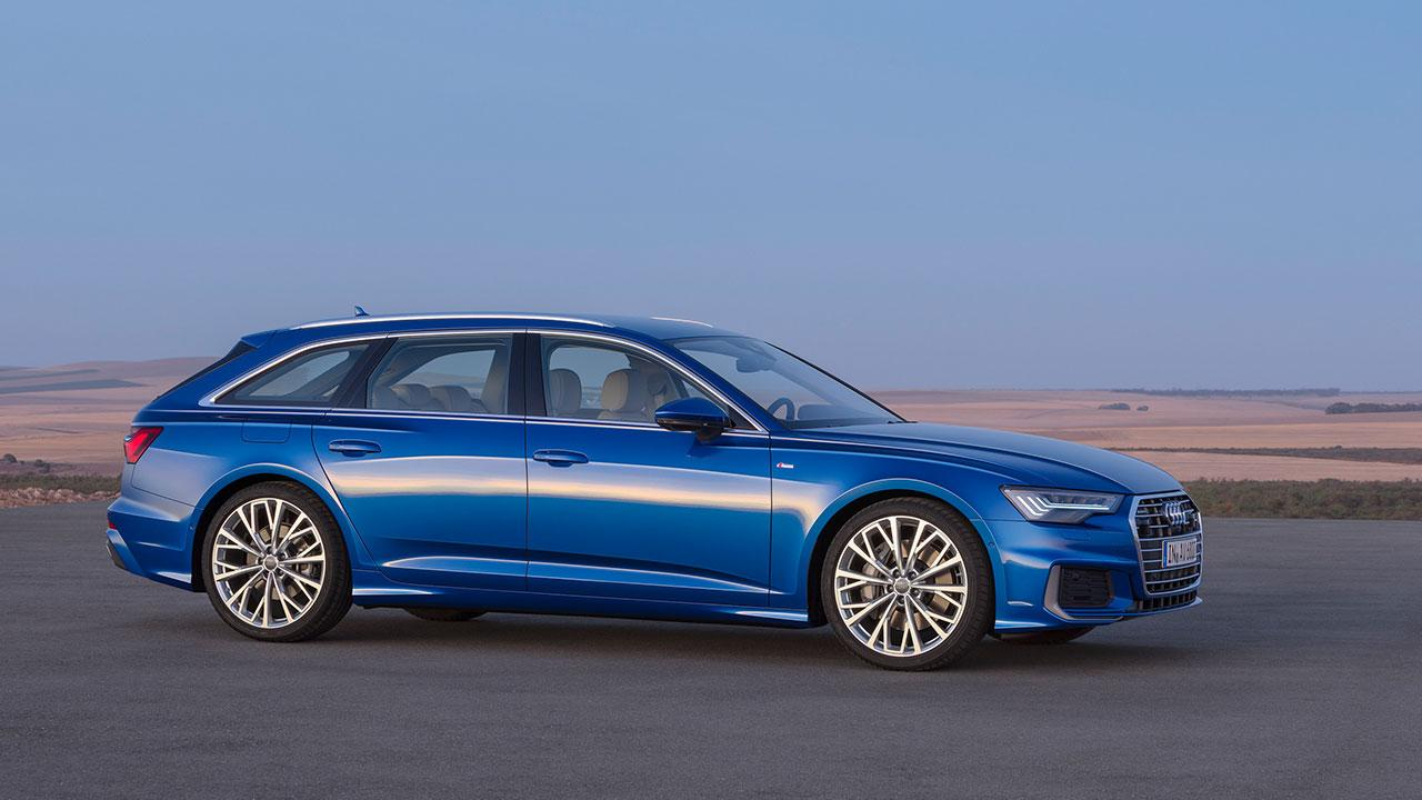 Audi A6 Avant 2018 - Seitenansicht