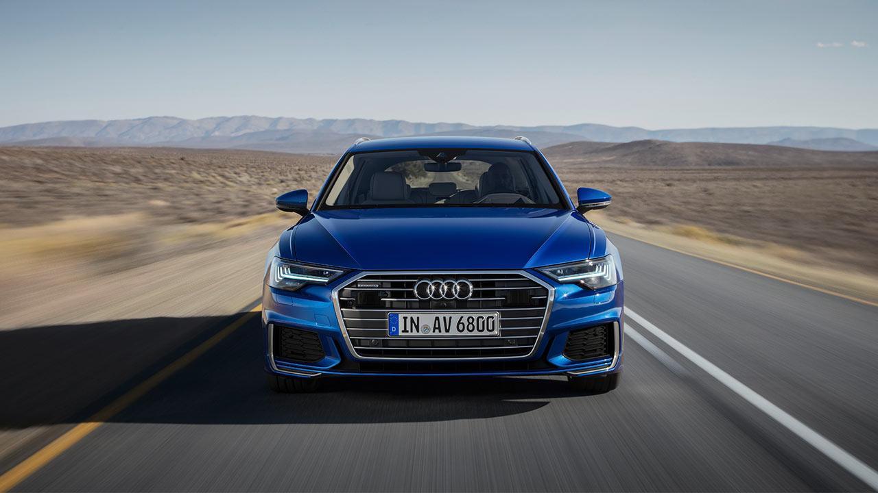 Audi A6 Avant 2018 - Frontansicht