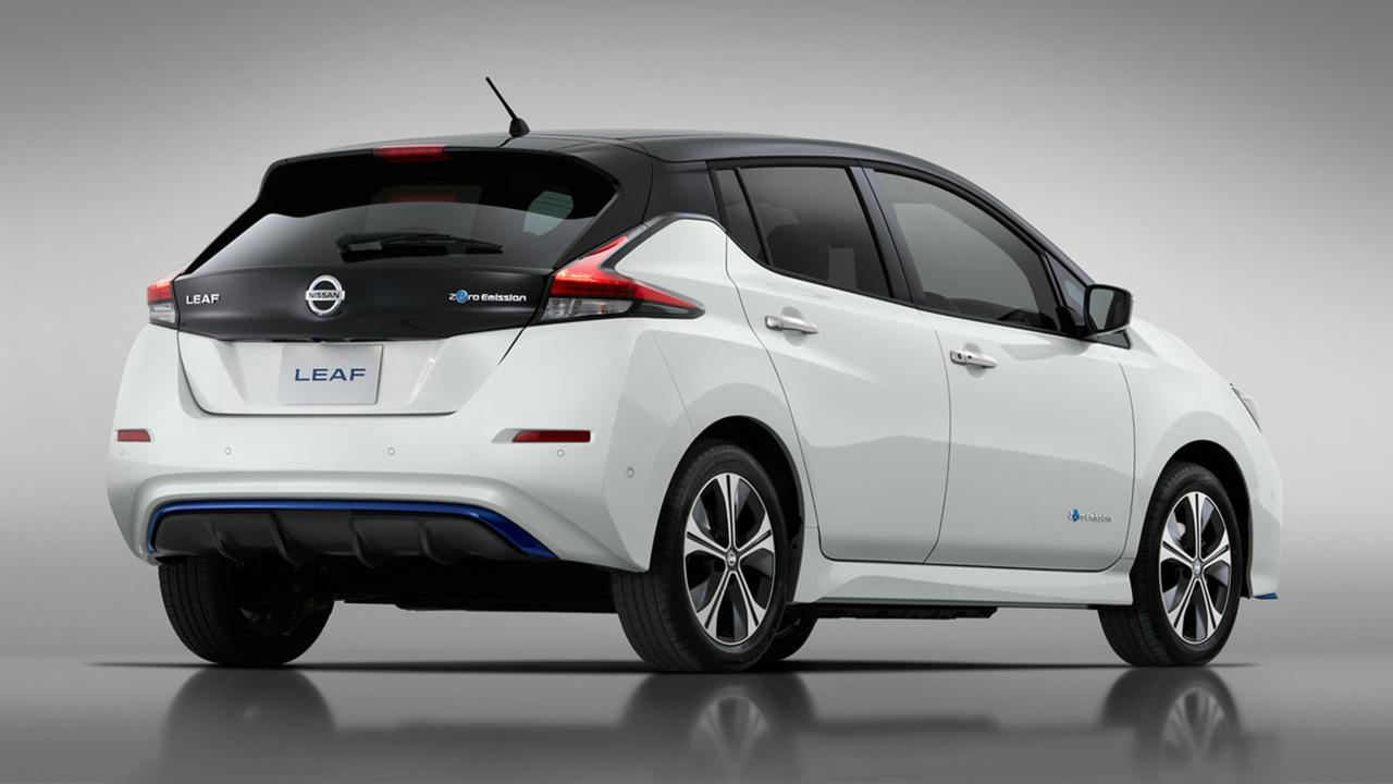 Nissan Leaf - Heckansicht