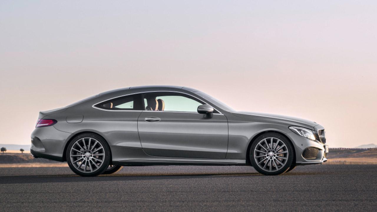 Mercedes-Benz C-Klasse Coupé - Seitenansicht