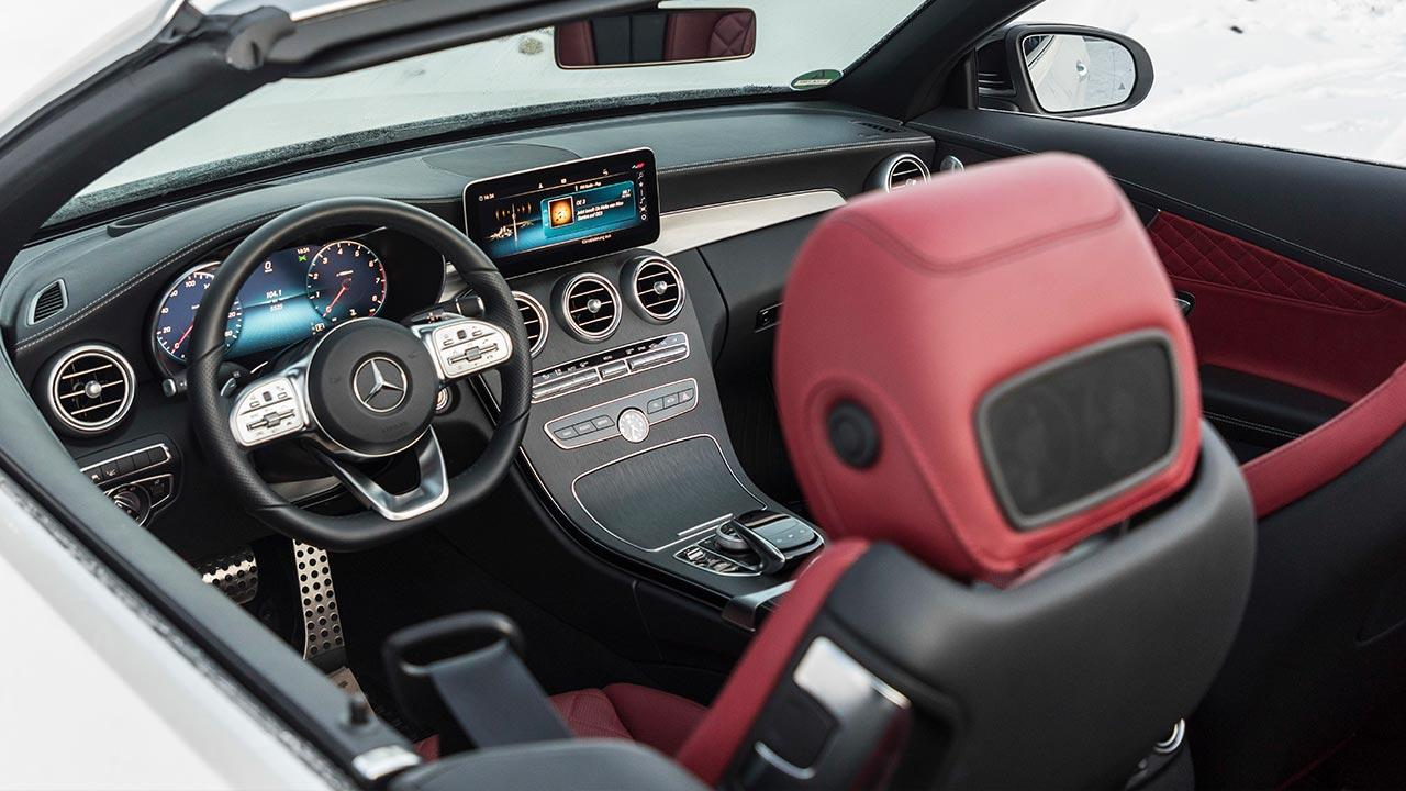 Mercedes-Benz C-Klasse Cabriolet - Cockpit
