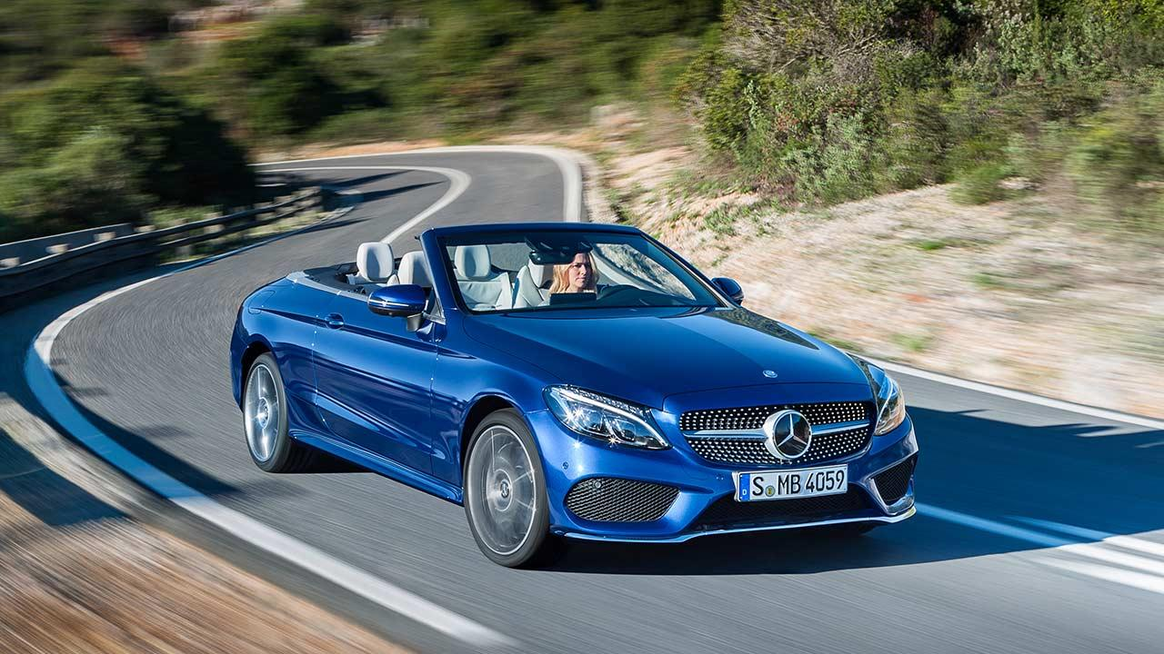 Mercedes-Benz C-Klasse Cabriolet - Kurvenfahrt