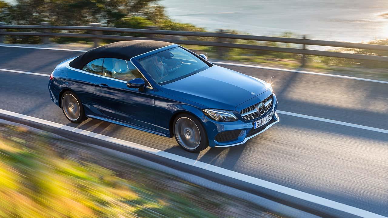 Mercedes-Benz C-Klasse Cabriolet - mit geschlossenem Verdeck