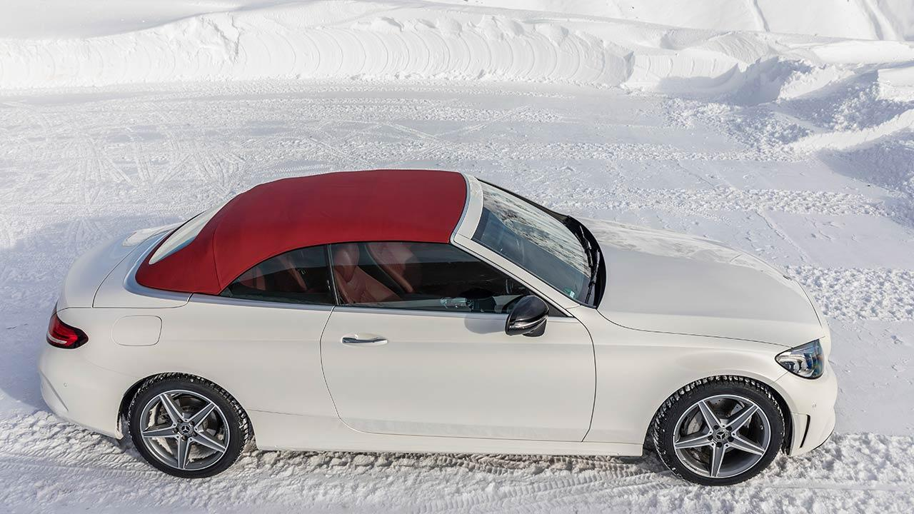 Mercedes-Benz C-Klasse Cabriolet - Vogelperspektive