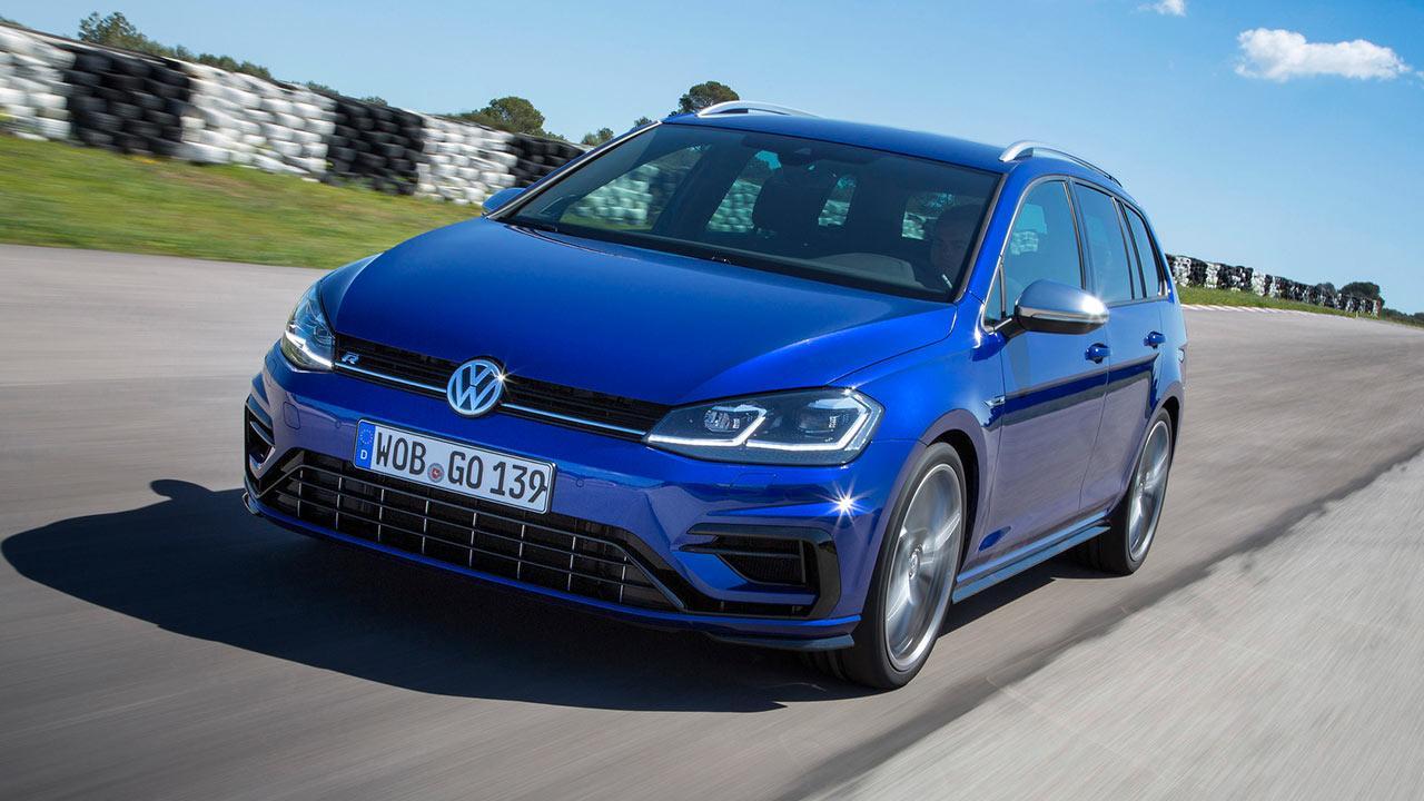 Volkswagen Golf VII R Variant - Frontansicht
