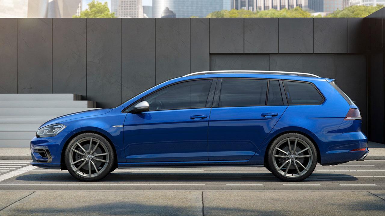 Volkswagen Golf VII R Variant - Seitenansicht