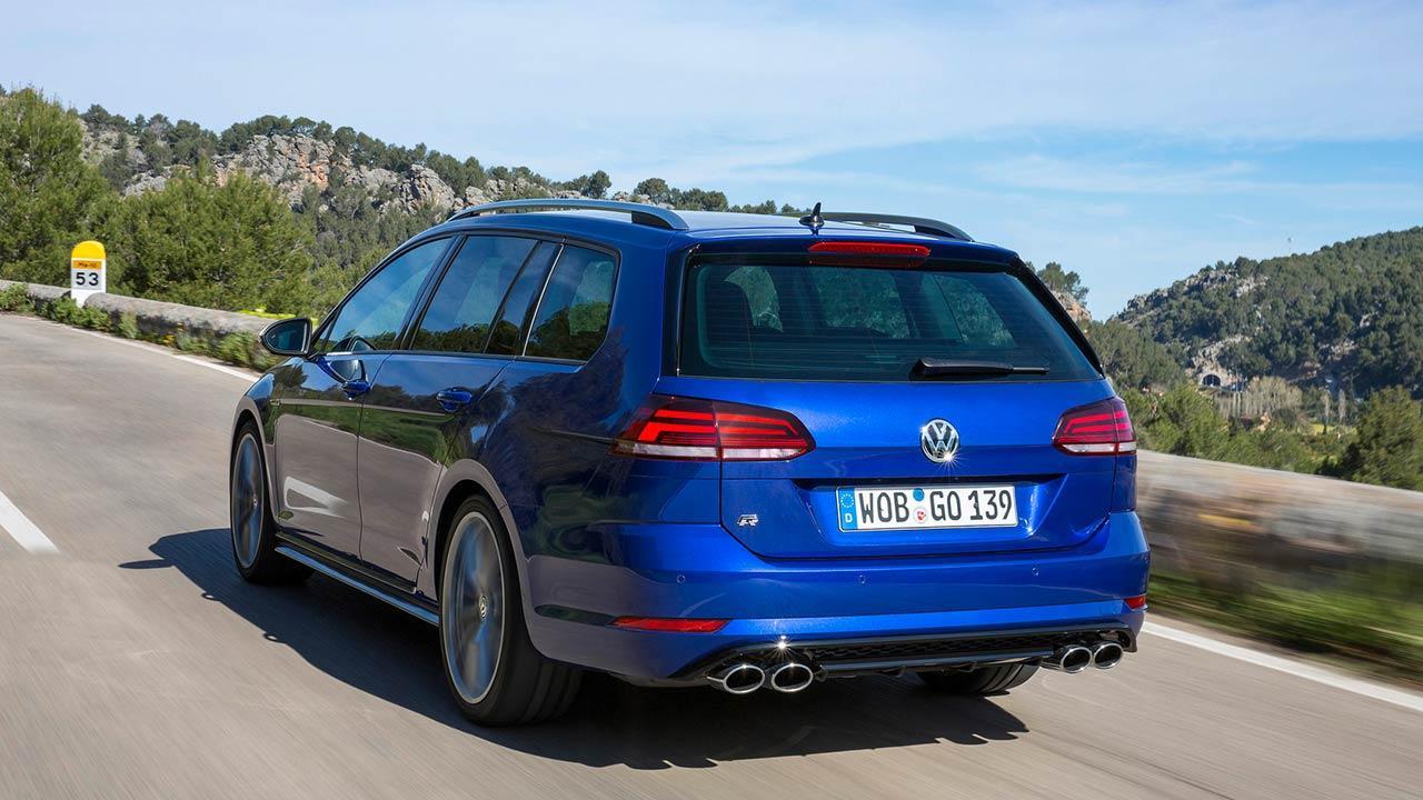 Volkswagen Golf VII R Variant - Heckansicht