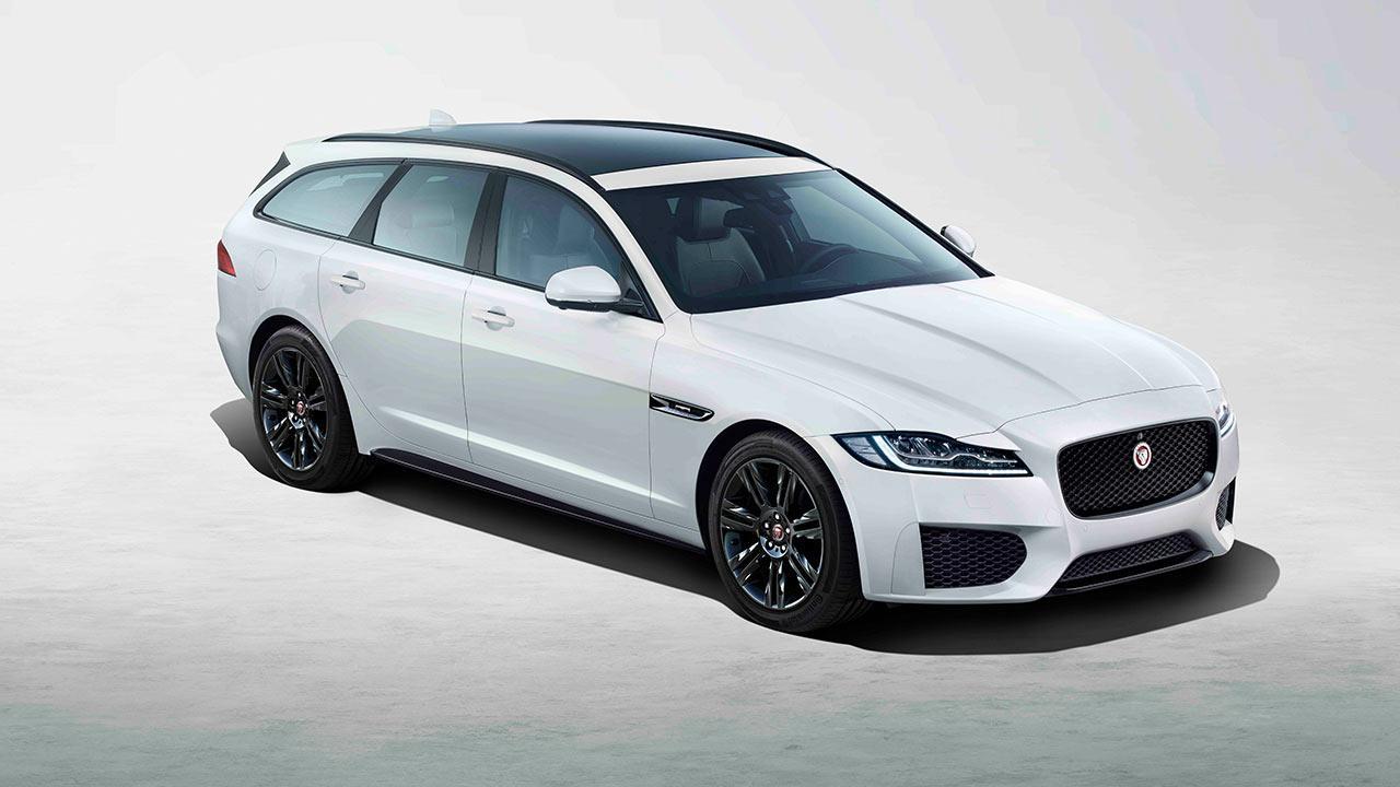 Jaguar XF Sportbrake - in weiß