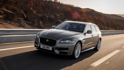 Jaguar XF Sportbrake - in voller Fahrt