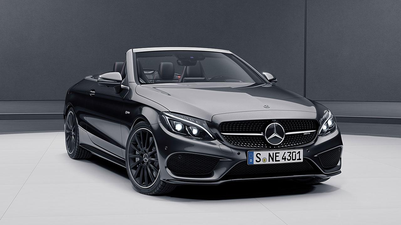 Mercedes-AMG C 43 4MATIC Cabriolet - Frontansicht