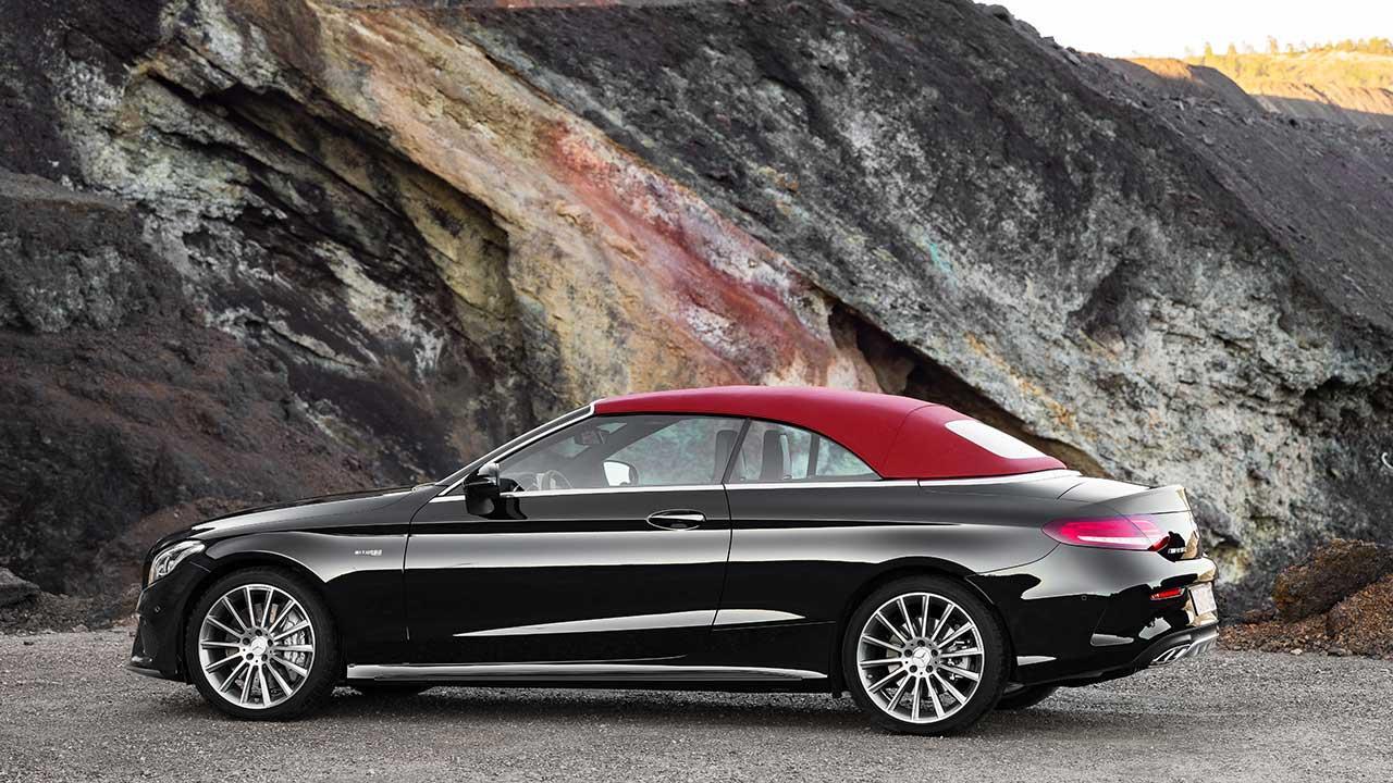 Mercedes-AMG C 43 4MATIC Cabriolet - Seitenansicht