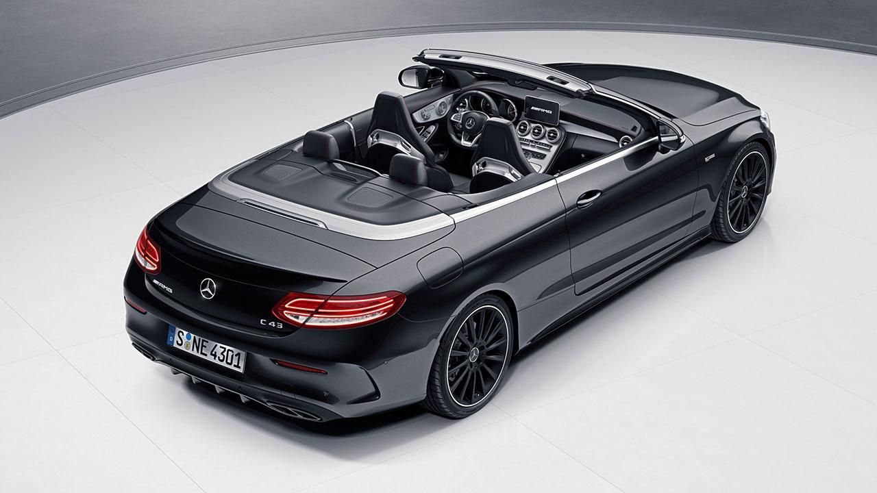 Mercedes-AMG C 43 4MATIC Cabriolet - Heckansicht
