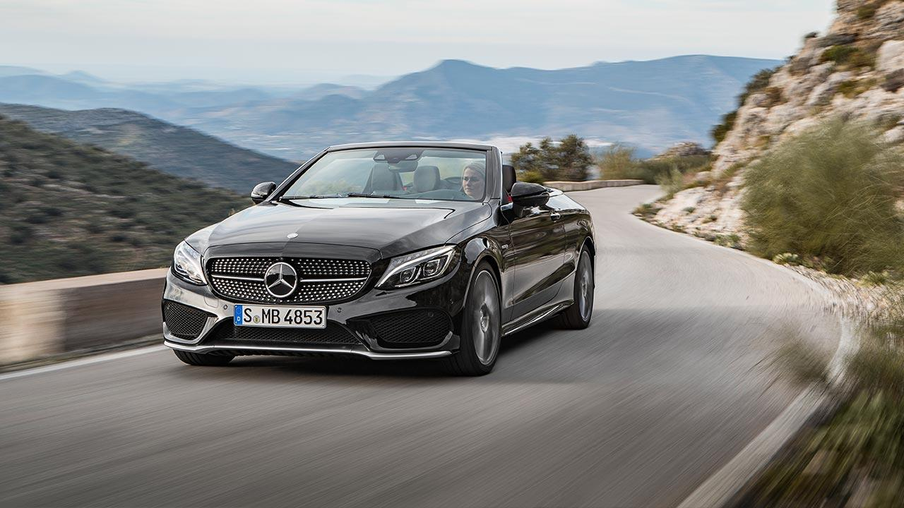 Mercedes-AMG C 43 4MATIC Cabriolet - in voller Fahrt