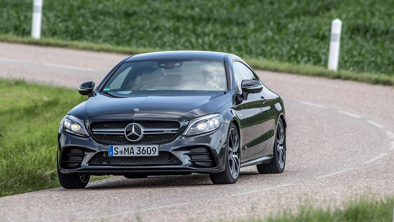 Mercedes-AMG C 43 4MATIC Coupé - in voller Fahrt