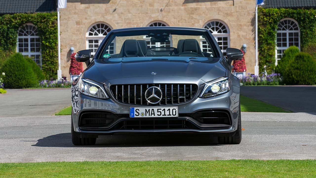 Mercedes-AMG C 63 Cabriolet - Frontansicht