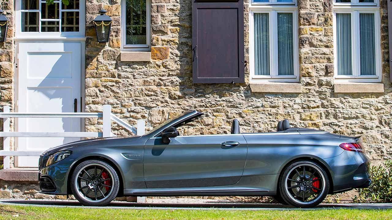 Mercedes-AMG C 63 Cabriolet - Seitenansicht