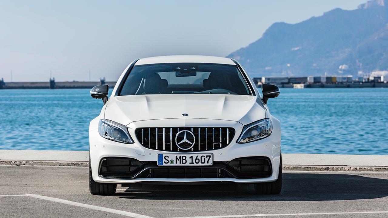 Mercedes-AMG C 63 Coupé - Frontansicht