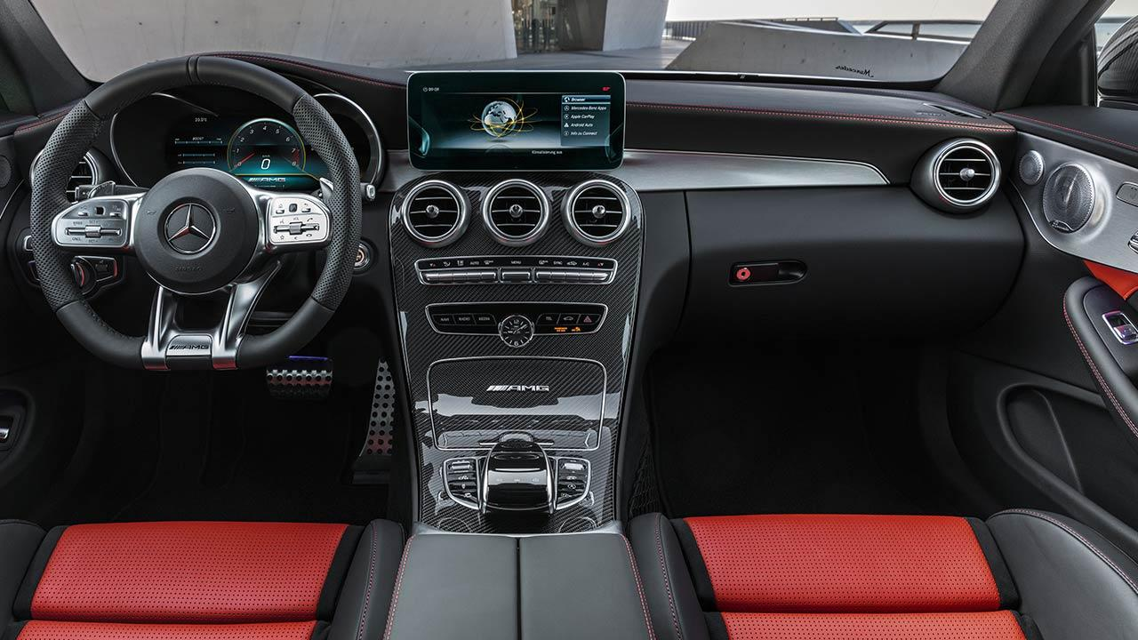 Mercedes-AMG C 63 Coupé - Cockkpit