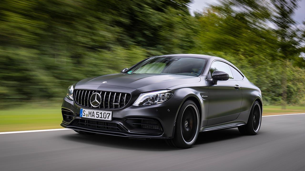 Mercedes-AMG C 63 S Coupé - in voller Fahrt