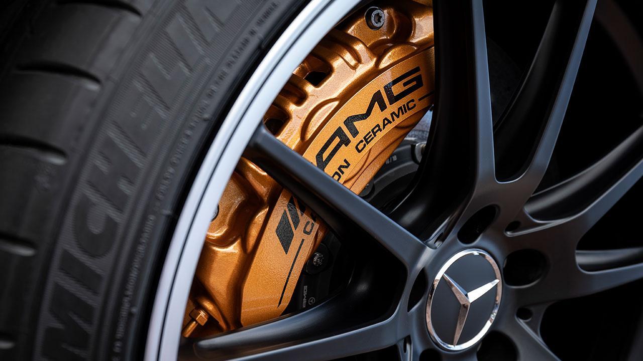 Mercedes-AMG C 63 S Coupé - Bremsanlage