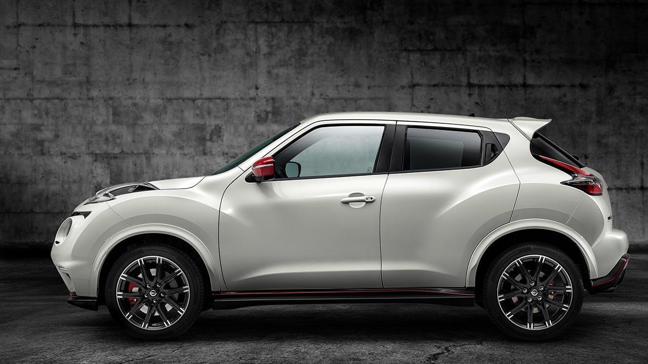 Nissan Juke - Seitenansicht