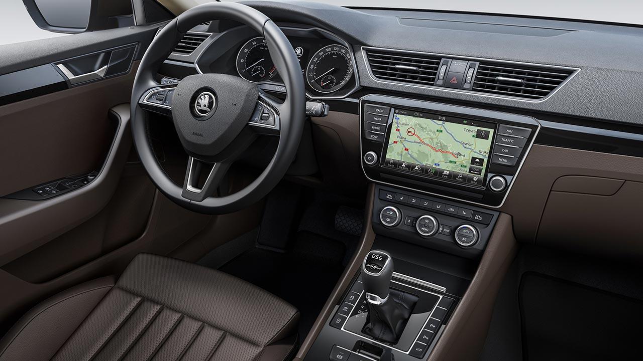 Skoda Superb Limousine - Cockpit
