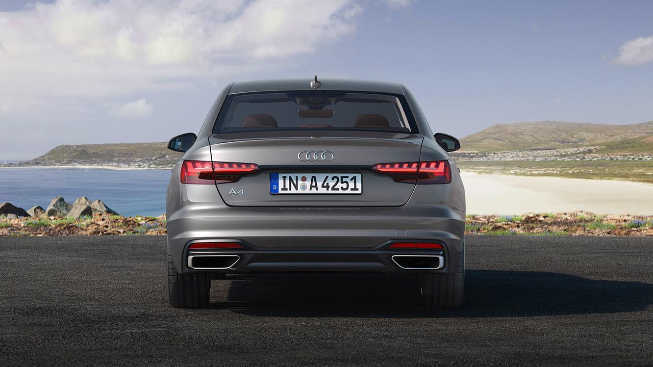 Audi A4 Limousine - Heckansicht