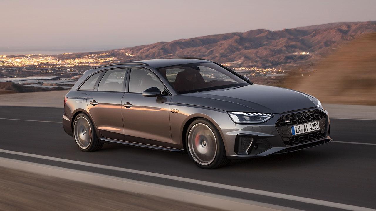 Audi A4 Avant - in voller Fahrt