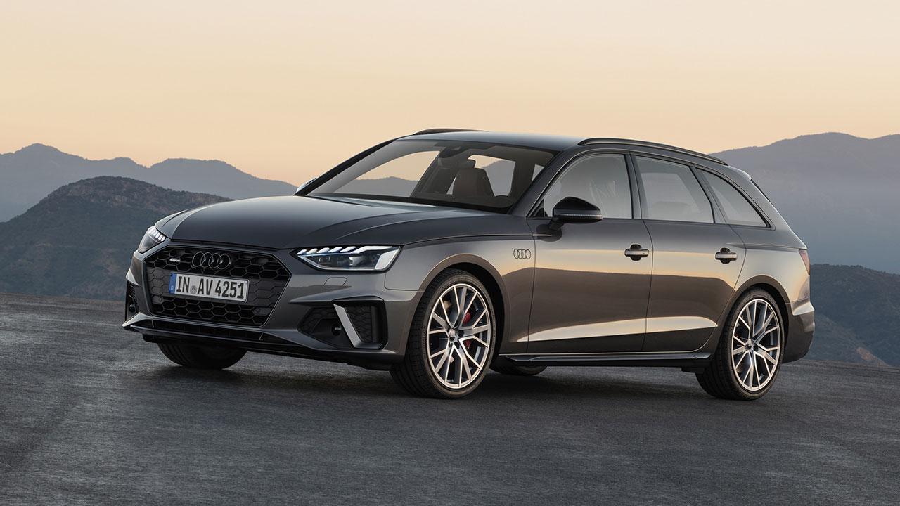 Audi A4 Avant - seitliche Frontansicht