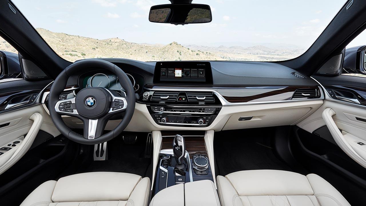 BMW 5er Limousine - Cockpit