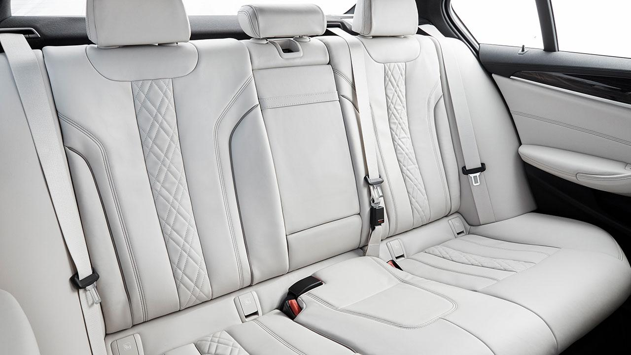 BMW 5er Limousine - Rücksitz