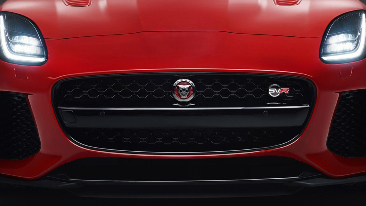 Jaguar F-TYPE - Frontansicht