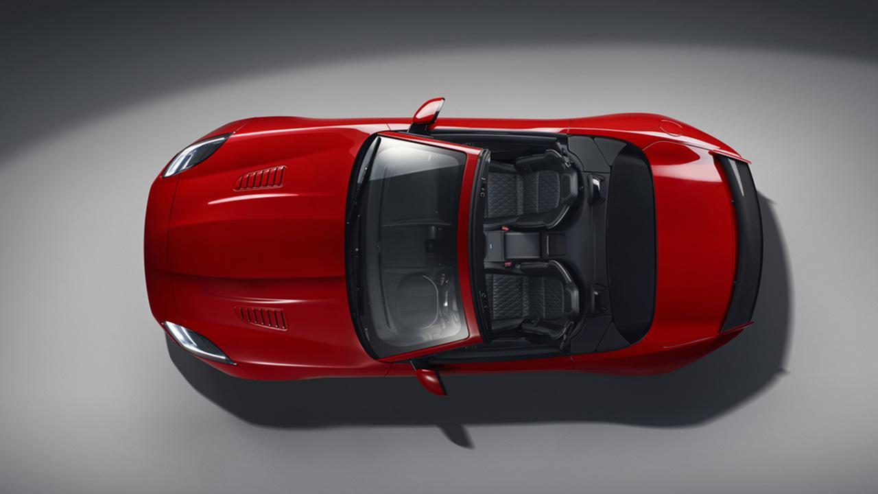 Jaguar F-TYPE -  Ansicht von Oben