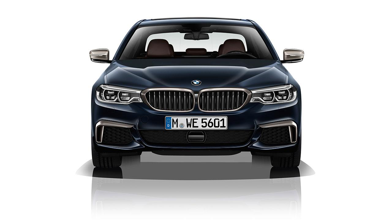 BMW M550d xDrive Touring - Frontansicht