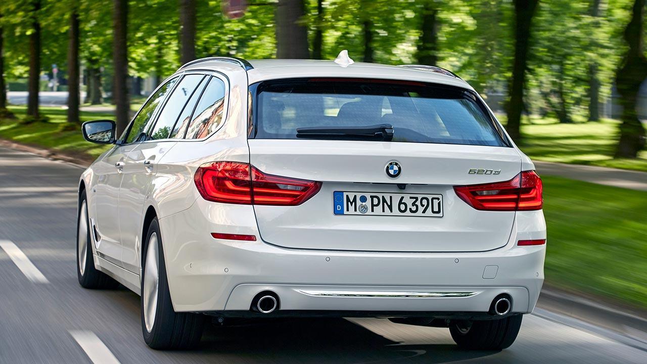 BMW 5er Touring - Heckansicht