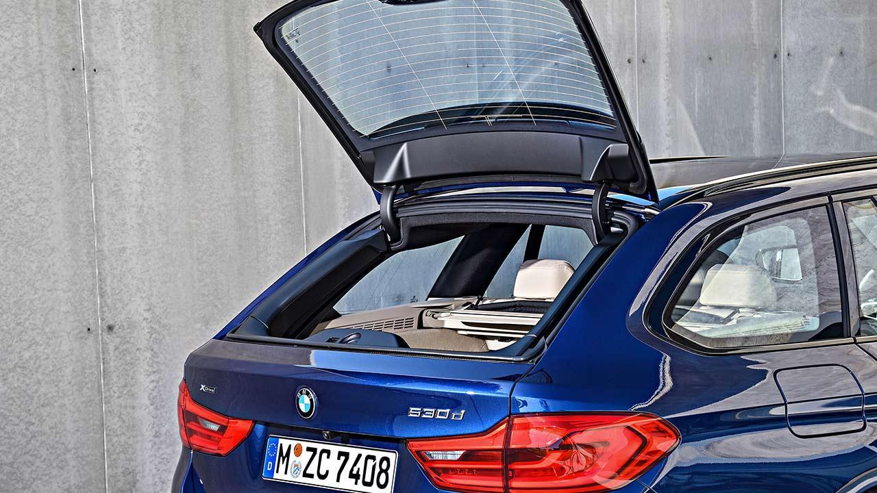 BMW 5er Touring - Heckklappe