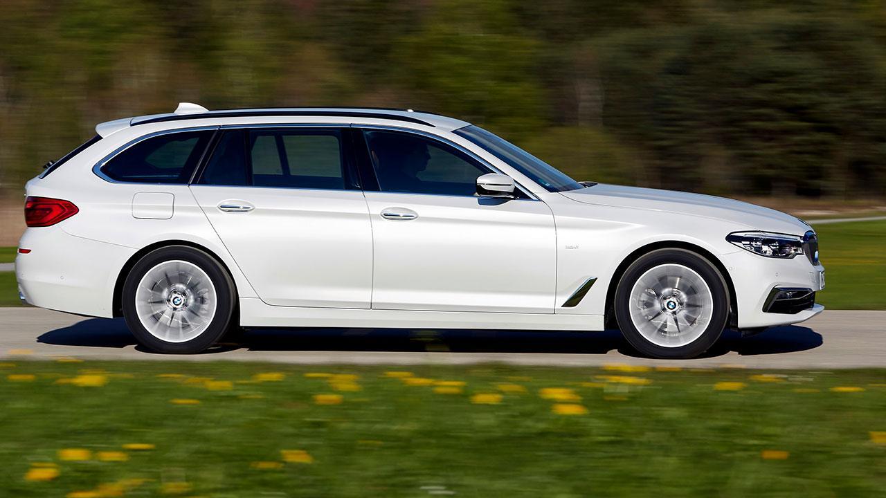 BMW 5er Touring - Seitenansicht