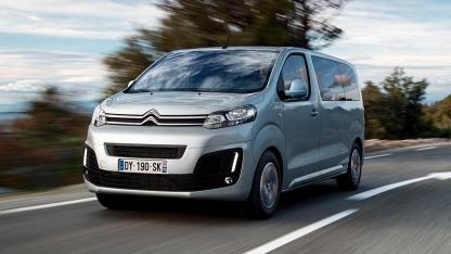 Citroen SpaceTourer - in voller Fahrt