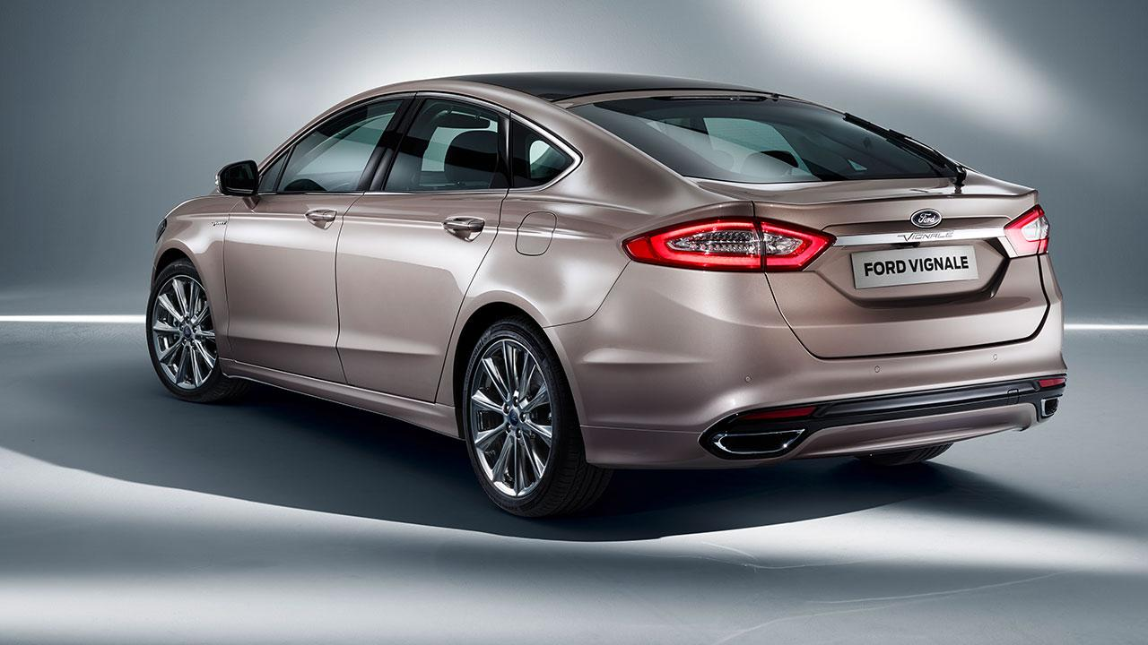 Ford Mondeo Limousine - Heckansicht